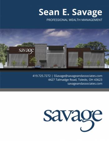 Sean Savage Brochure Page 1