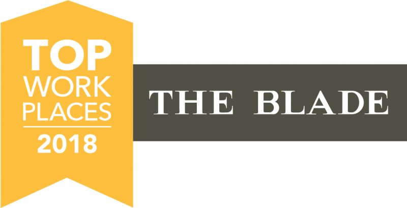 The Blade Top Workplace Logo