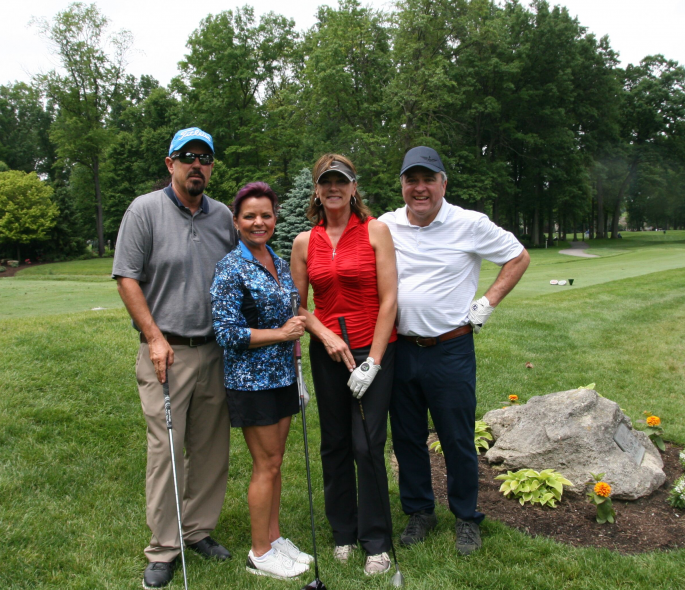 Golfers at Savage Golf Classic 2019
