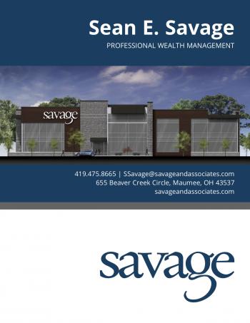 Sean Savage Brochure Cover